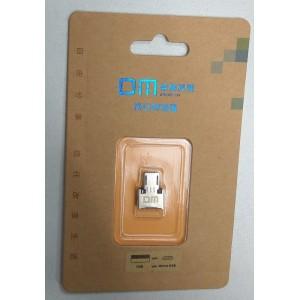 Адаптер micro-USB переходник с флешки на телефон/планшет через USB-micro для Nokia, Samsung