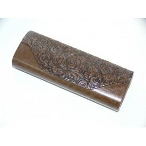 Футляр для очков коричневый R-17853-19 на магните