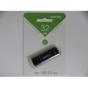 Флешка Smartbuy 32 гб flash USB 2.0 Drive