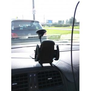Держатель телефона автомобильный на присоске