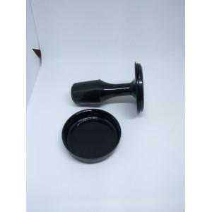 Печать круглая, ручная оснастка 42мм длинная ручка