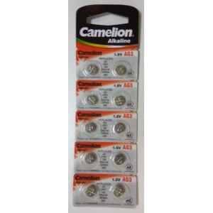 Батарейка Camelion AG3 392A/LR41/192 1.5V