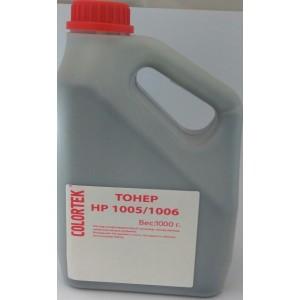 Тонер HP для 1005/1505 вес 1 кг Colortek