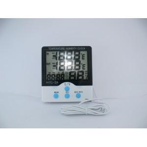 Гигрометр, термометр с проводом HTC-2, метеостанция
