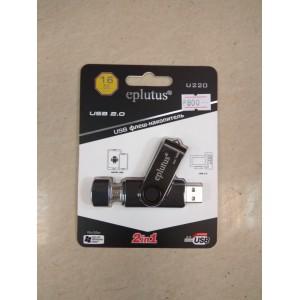 Флешка 16 гб (gb) Eplutus USB 2.0 на Micro USB, Smart Drive