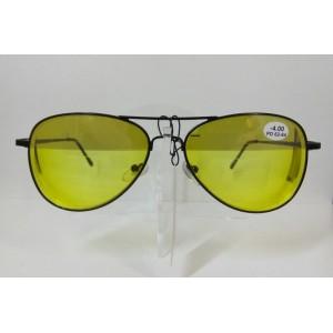 Водительские очки, Glodiatr GR8005, обод, готовые очки с диоптриями