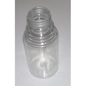 Бутылочка 100 мл высота 109 мм х диаметр 45 мм, высота для этикетки 60 мм, тип резьбы  BPF, PCO