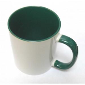 Фото на зеленую внутри кружку или Кружка с фотографиями или зеленая внутри Фотокружка.