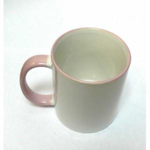 Фото на розовую внутри кружку или Кружка с фотографиями или розовая внутри Фотокружка.