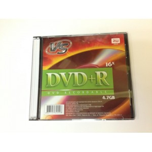Диск DVD+R 16x 4.7gb