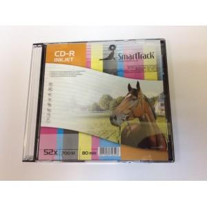 Диск CD+R 52x 700mb, inkjet