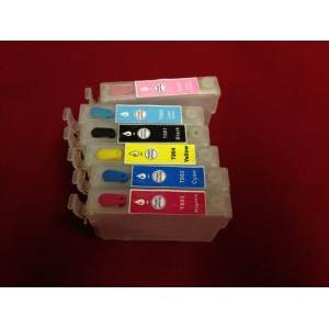 Перезаправляемые картриджи (пзк) Epson T0801-T0806 для принтеров P-50/PX-650/659/660/720/820