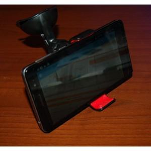 Автомобильный держатель  телефона Краб на присоске