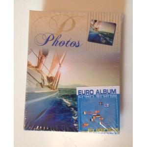"""Фотоальбом EURO-ALBUM"""" Морской бриз, 100 фото 10x15 мм"""""""