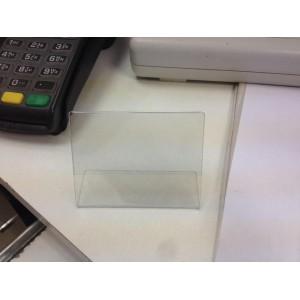 Для ценика подставка прозрачная пластиковая в магазин