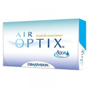 Контактные линзы Air Optix Aqua, CIBA Vision, 6pk