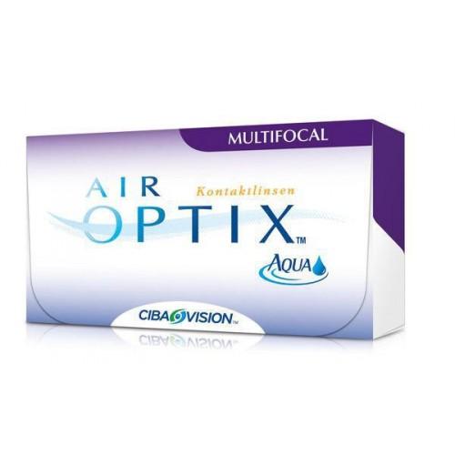 Контактные линзы Air Optix Aqua MultiFocal, CIBA Vision, 3pk
