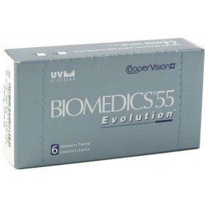 Контактные линзы Biomedics 55 Evolution, Cooper Vision, 6pk