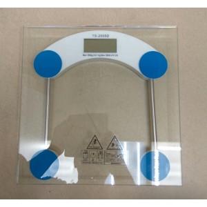 Весы напольные стеклянные, TS-2005D, прозрачные электронные (0,1-180 кг)